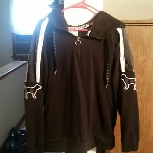 Half zip Victoria secret PINK hoodie